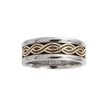 Celtic 'Twist' Wedding Band