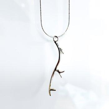"Deer Antler Necklace (20"")"