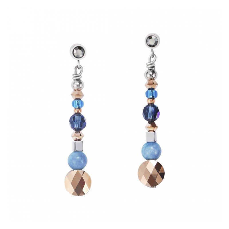 Coeur De Lion Crystal Earrings