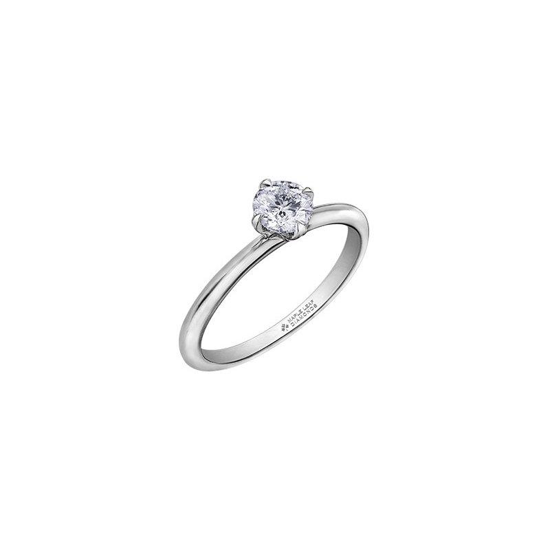 Corona Canadian Diamond Solitaire Engagement Ring