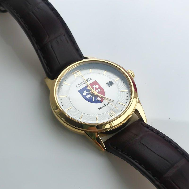 Acadia Jewellery Eco-Drive Acadia Watch Brown Leather