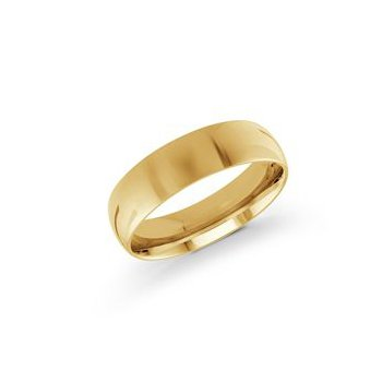 Classic Gold Band (6mm)