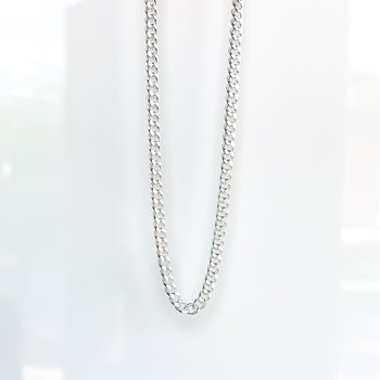 """Sterling Silver Curb Chain (22"""")"""