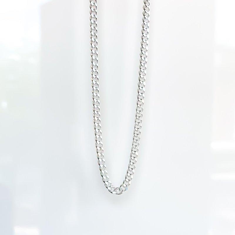 Tecimer & Johns Sterling Silver Curb Chain
