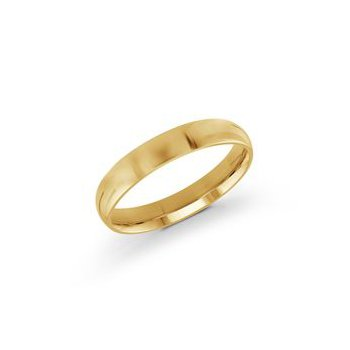 Classic Yellow Gold Wedding Band (4mm)