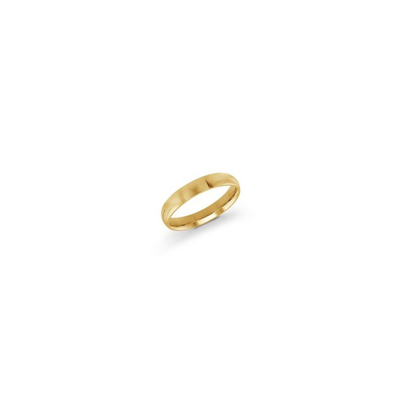 Malo Bands Classic Yellow Gold Wedding Band (4mm)