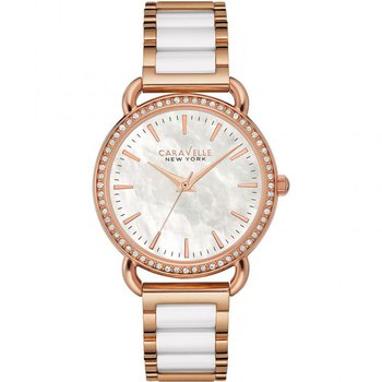 Rose Gold Mother of Pearl Watch