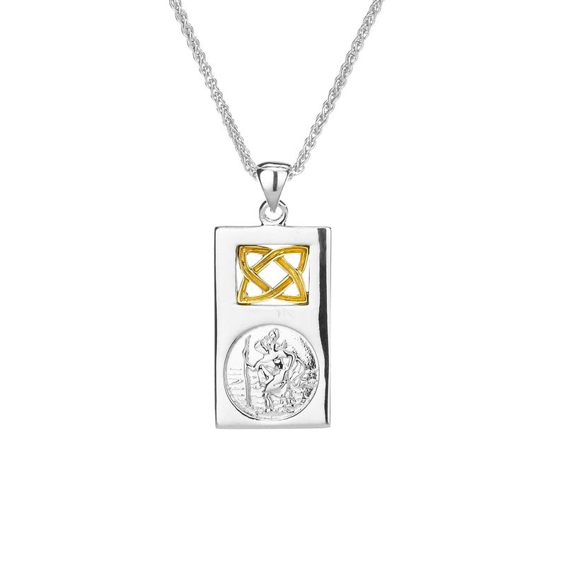Keith Jack St. Christopher Necklace