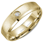 Bleu Royale Textured Diamond Wedding Band