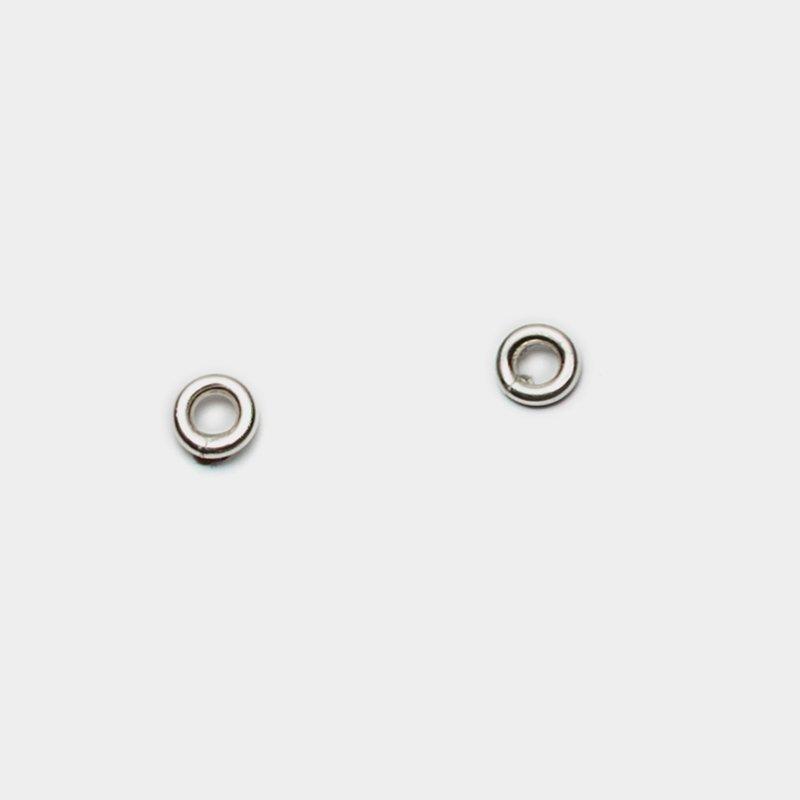 Pilar Agueci Circle Stud Earrings