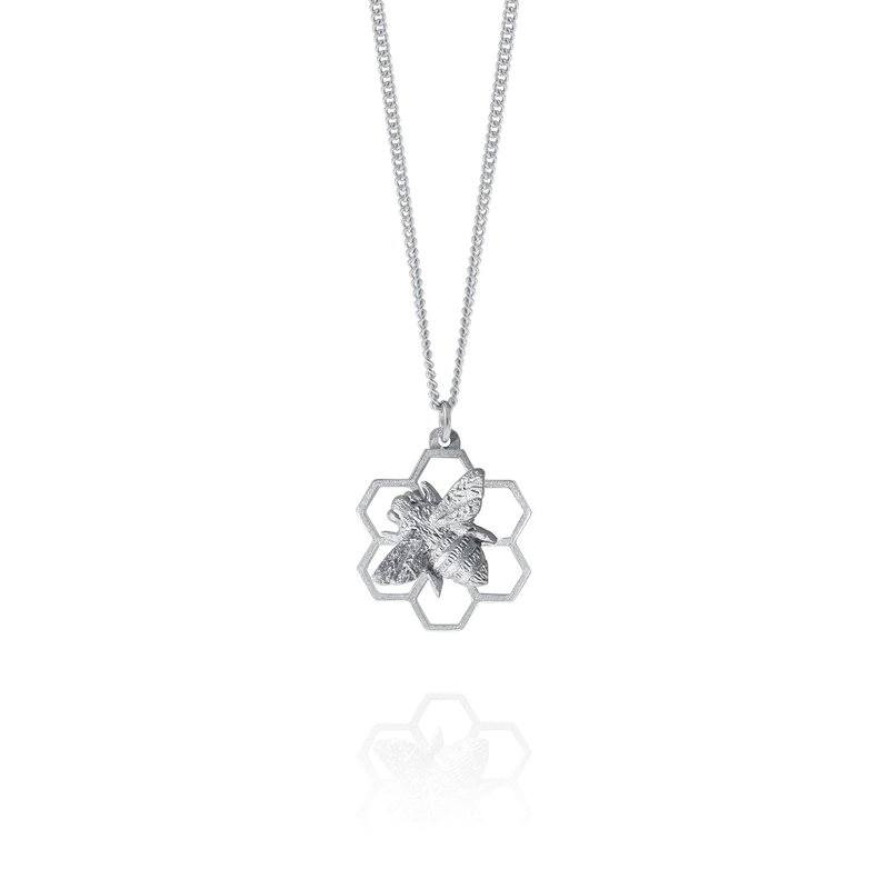 Amos Pewter Honey Bee Necklace