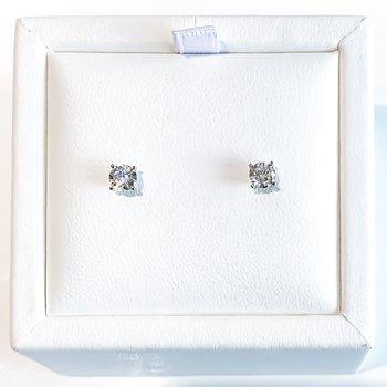 0.56CT TW Lab Grown Diamond Stud Earrings