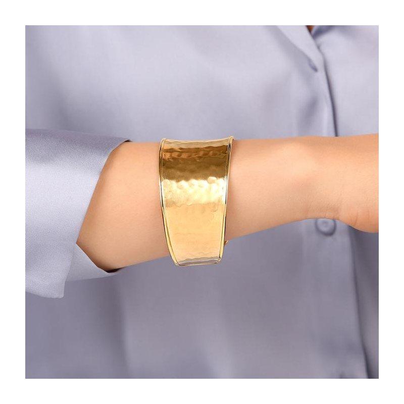 Etrusca Gioielli Textured Cuff Bracelet