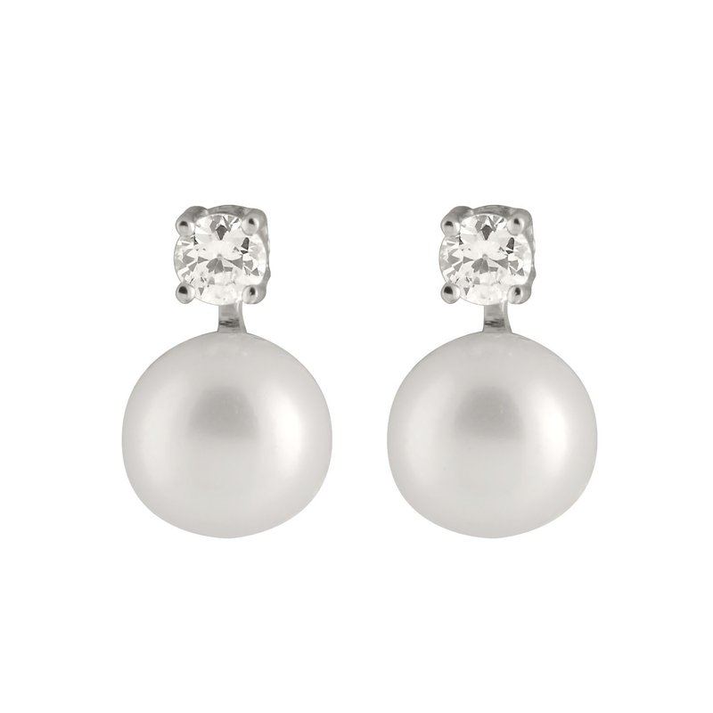 HJ Pearl Collection Freshwater Pearl Stud Earrings