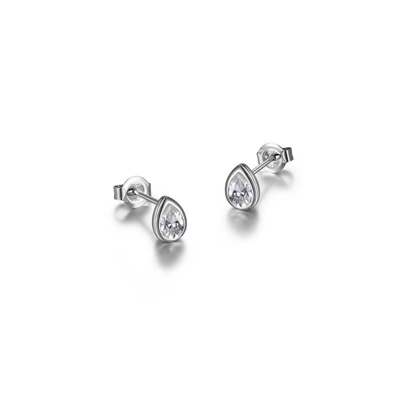 Reign Pear Diamondlite Stud Earrings
