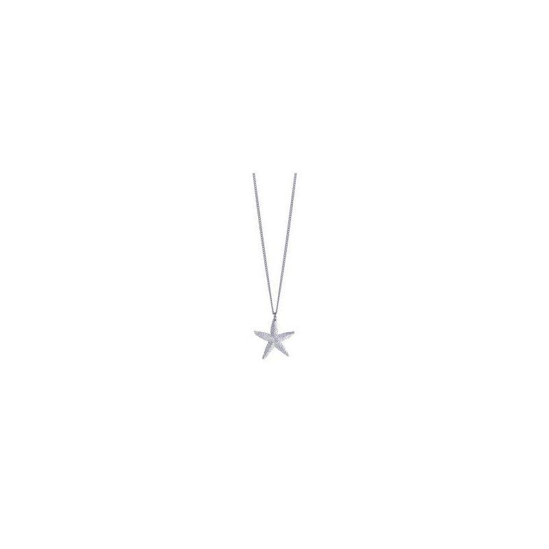 Amos Pewter Starfish Necklace