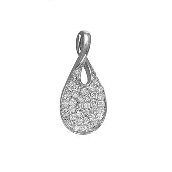 Pavé Diamond Pendant