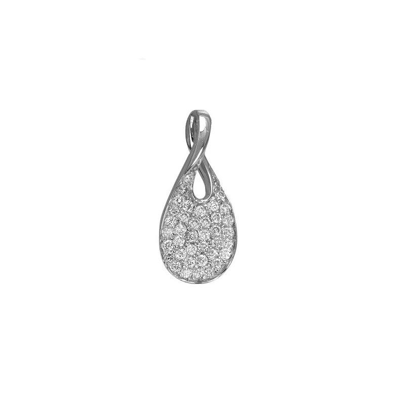 Max Strauss Pavé Diamond Necklace