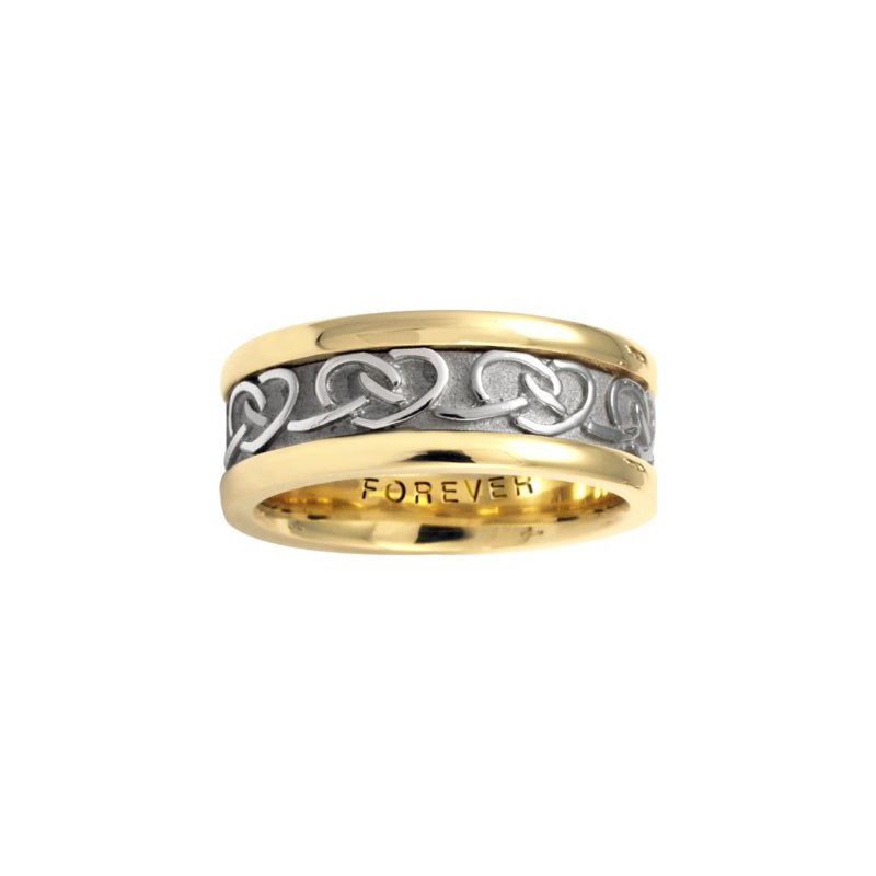 Cadman Manufacturing Co. Celtic 'Interlocking Hearts' Wedding Band