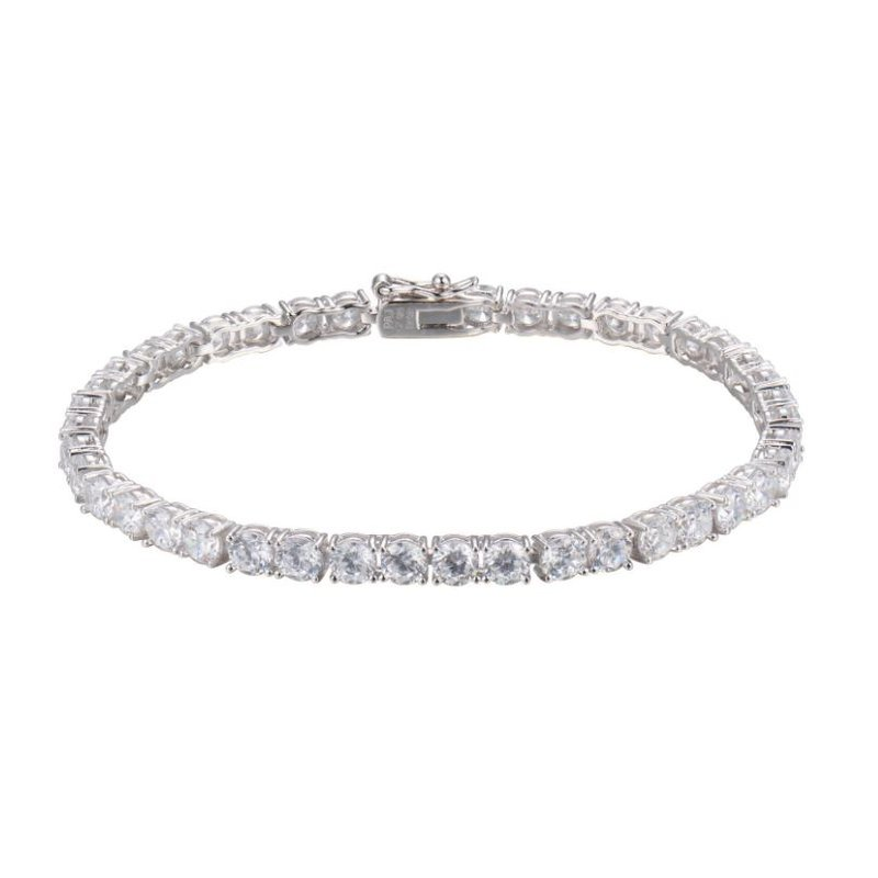 Reign Sterling Silver Tennis Bracelet