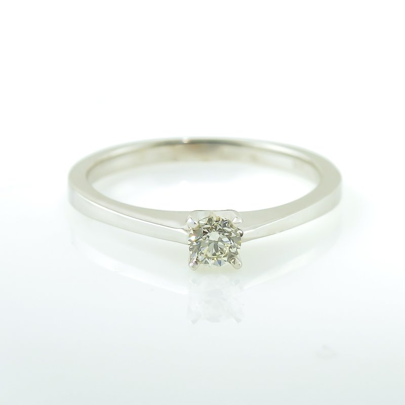 Forever Ice 0.20CT Solitaire Engagement Ring