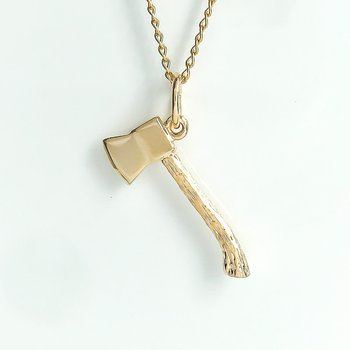 Gold Plated Axe