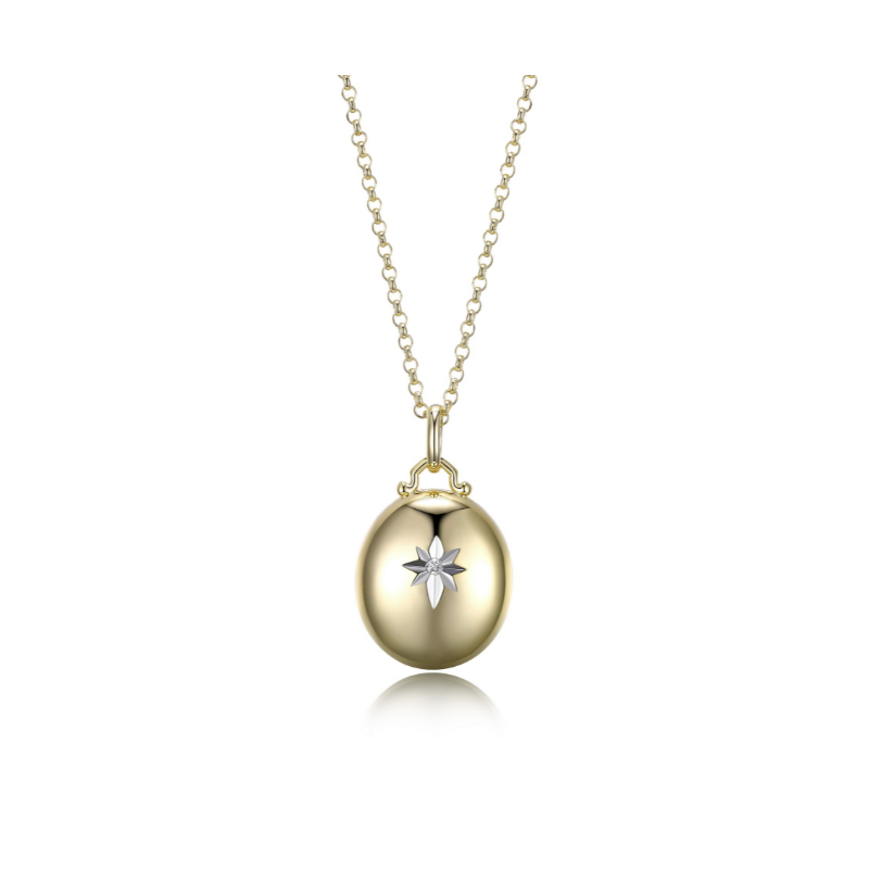 Reign Yellow Gold Plated Locket