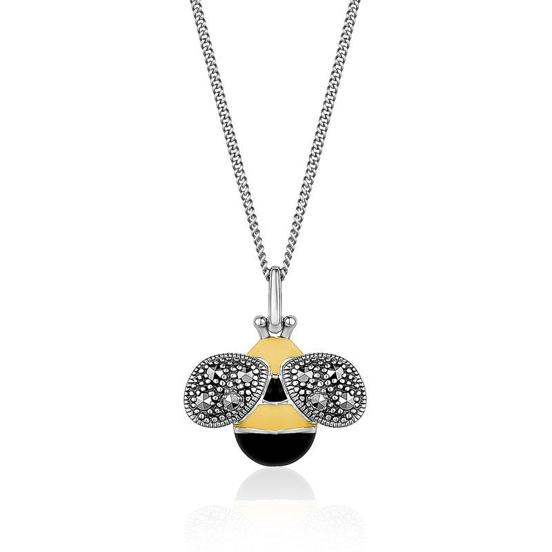 Larus Vintage Bee Necklace