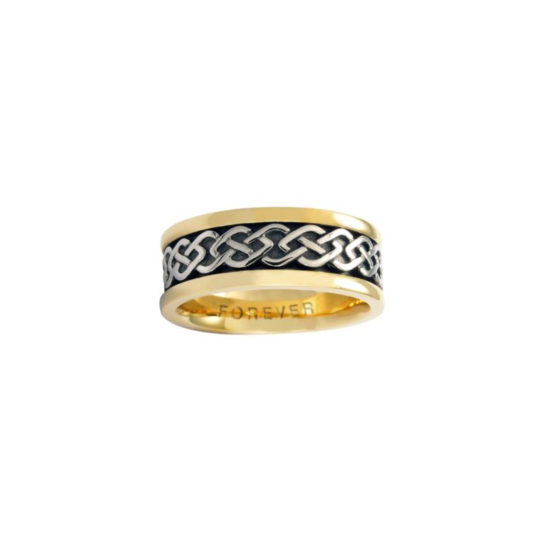 Cadman Manufacturing Co. Celtic 'Dance of Life' Wedding Band
