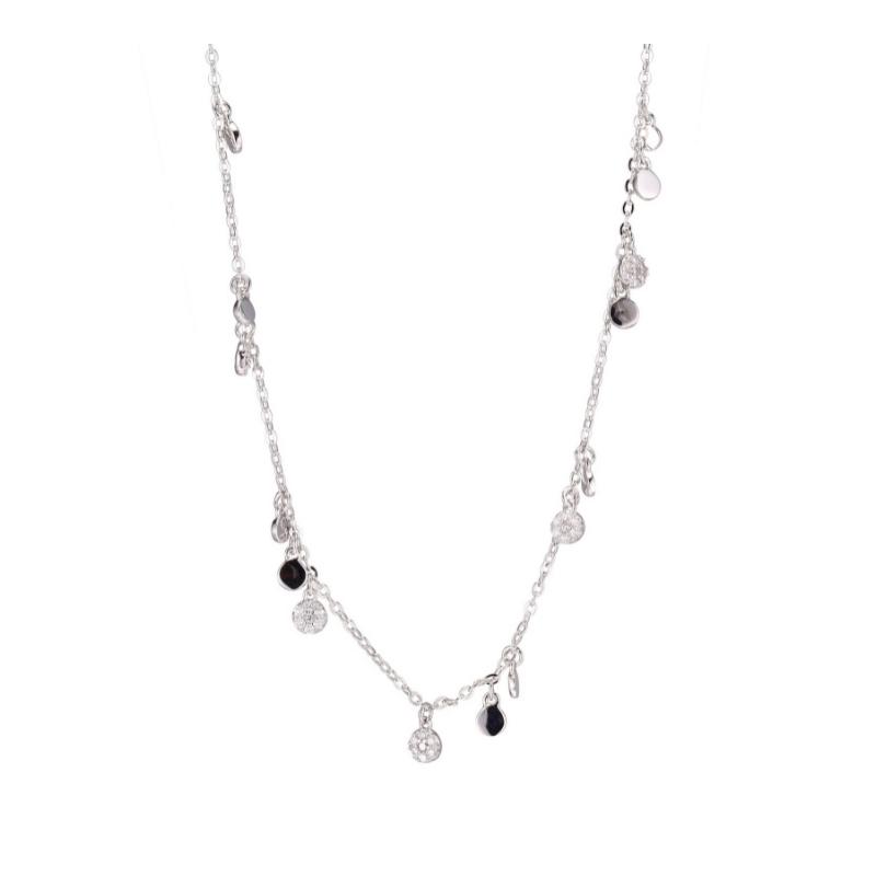 Reign Sterling Silver Sprinkle Necklace