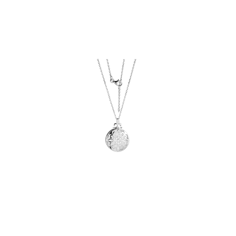 Reign Mother of Pearl Locket