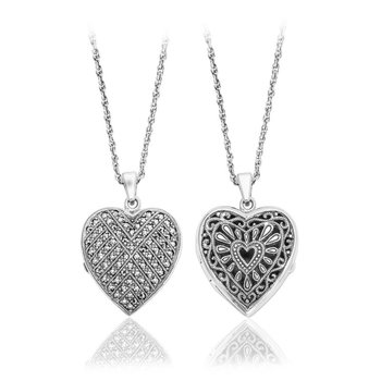 Heart Shaped Reversible Locket