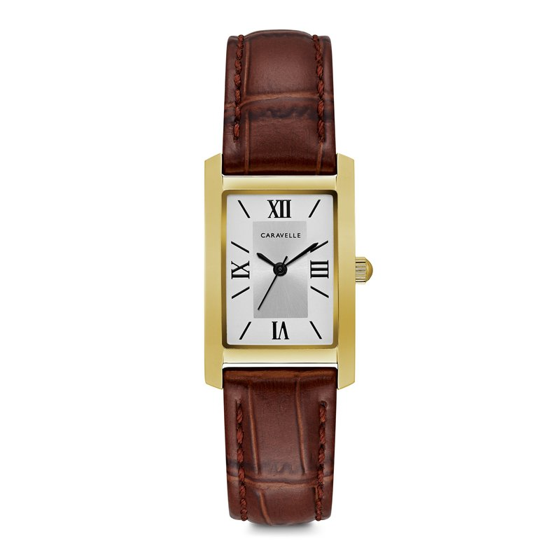 Caravelle Ladies' Classic Watch Brown Leather