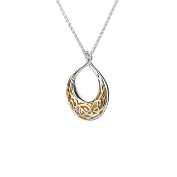 Window to the Soul Teardrop Necklace (Small)