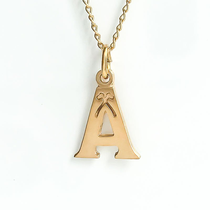 Acadia Jewellery Gold Plated Acadia A (Small)