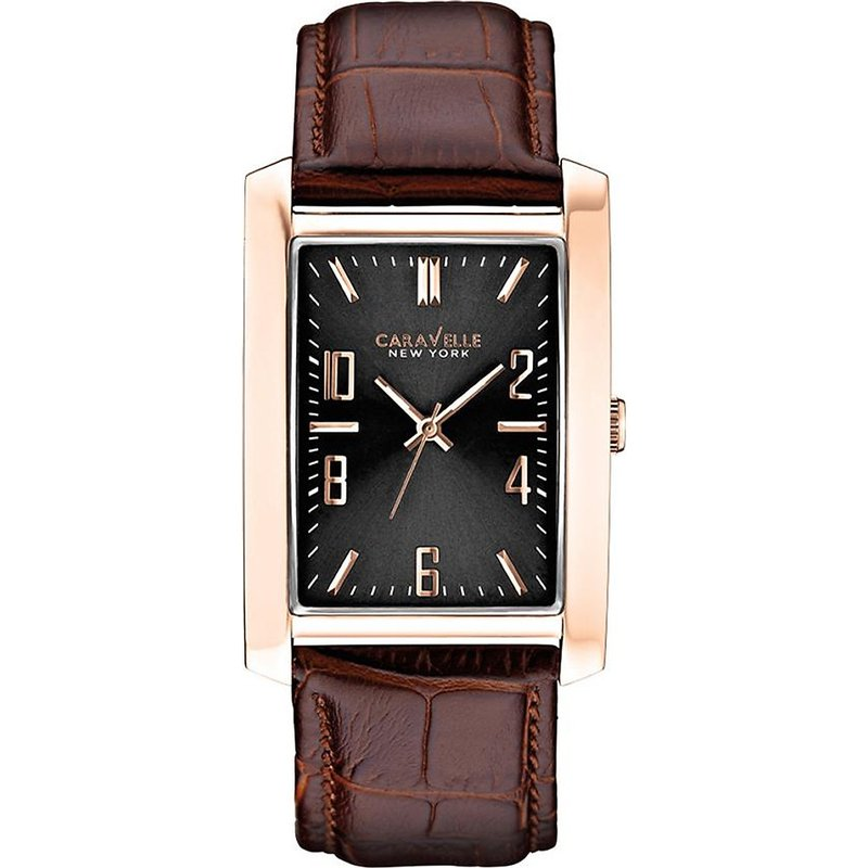 Caravelle Men's Classic Brown Leather