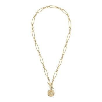 Italian Coin Necklace