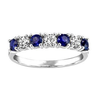 Forever Ice™ Sapphire & Canadian Diamond Band