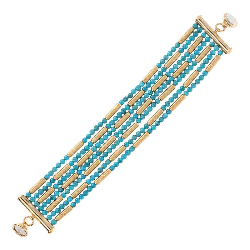 Etrusca Gioielli Turquoise Bracelet