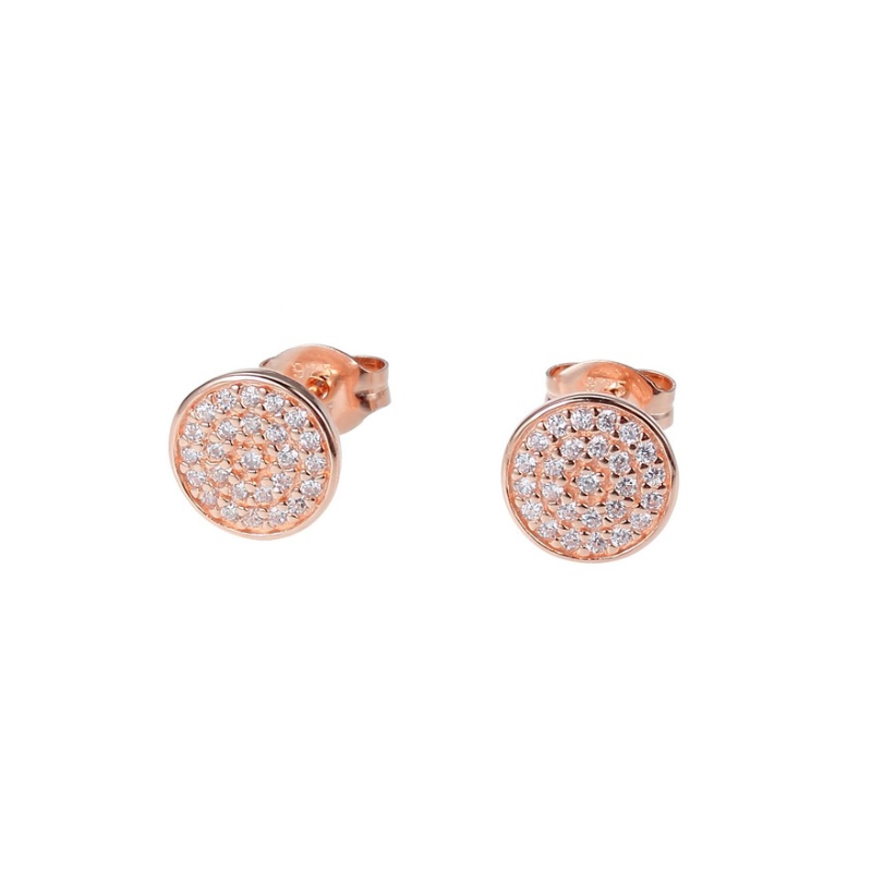 Reign Micro Pave Stud Earrings