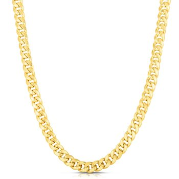 Miami Cuban Gold Plated Chain