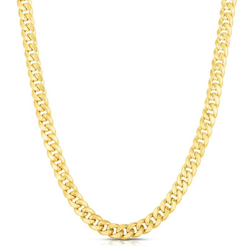 Tecimer & Johns Miami Cuban Gold Plated Chain