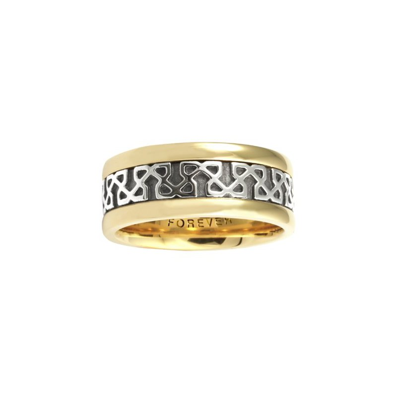 Cadman Manufacturing Co. Celtic 'Endless Knot' Wedding Band