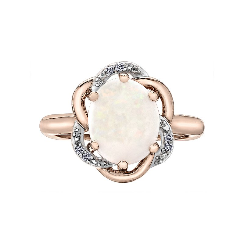 Corona Opal Diamond Ring
