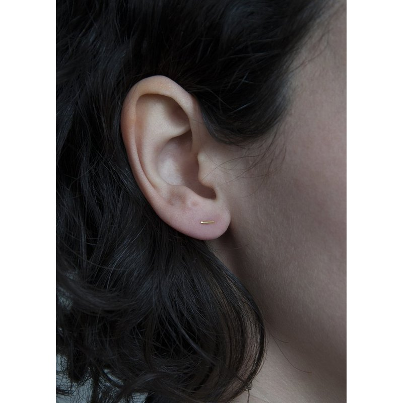 Pilar Agueci Theo Stud Earrings