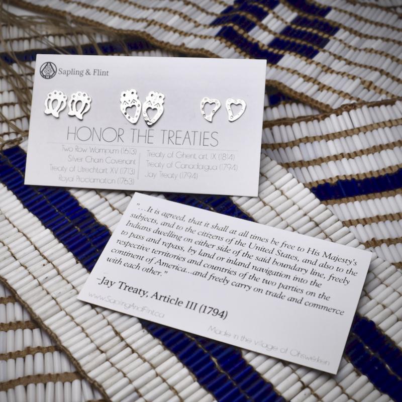Sapling & Flint Honor the Treaties - Stud Earring Set