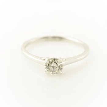 0.50CT Solitaire Engagement Ring