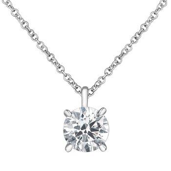 Lab Grown Diamond Necklace
