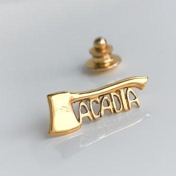 Acadia Axe Lapel Pin / Tie Tac