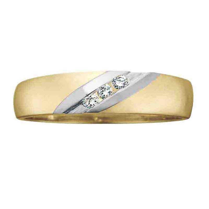 Corona Diamond Wedding Band